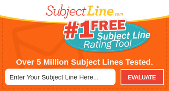 subject line rating tool